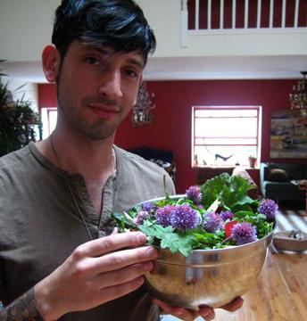 Joshua\'s salad