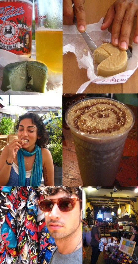Vegan Beer, Dr Cow Cheese, and Olvera St Market