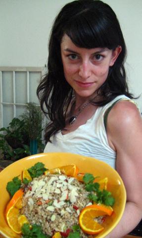 Jodi thinks rice is nice