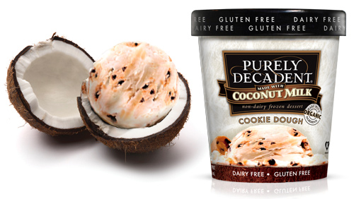 Coconut Based Cookie Dough Ice Cream