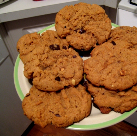 is there anything better than Chocolate Chip, Peanut Butter Cookies?