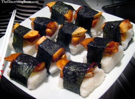 Tofu Squash Musubi