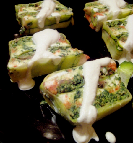 Pablo & Veronica's Raw Lasagna Terrine w/ Cashew Cream