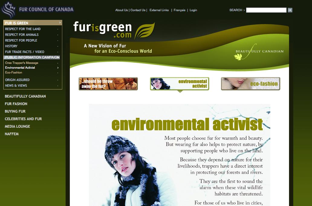 Fur is Greed
